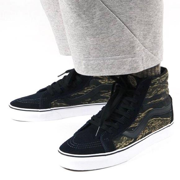7267687ffa Vans Vintage Camo Sk8-Hi Reissue Sneaker Shoe
